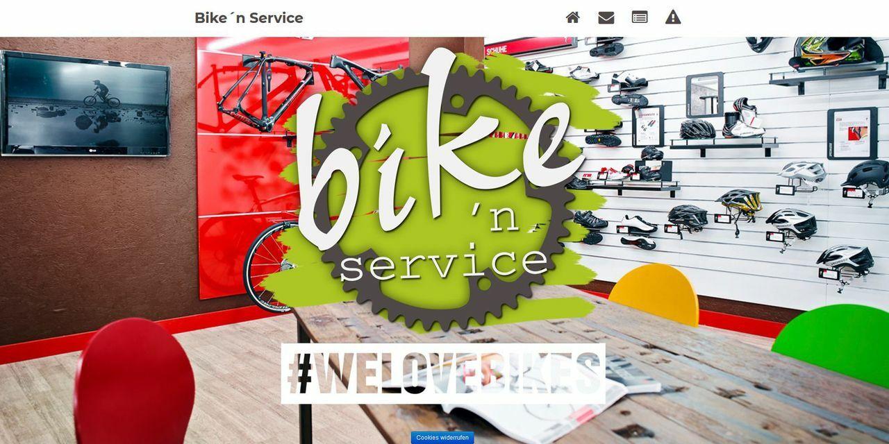 Screenshot Bike 'n' Service