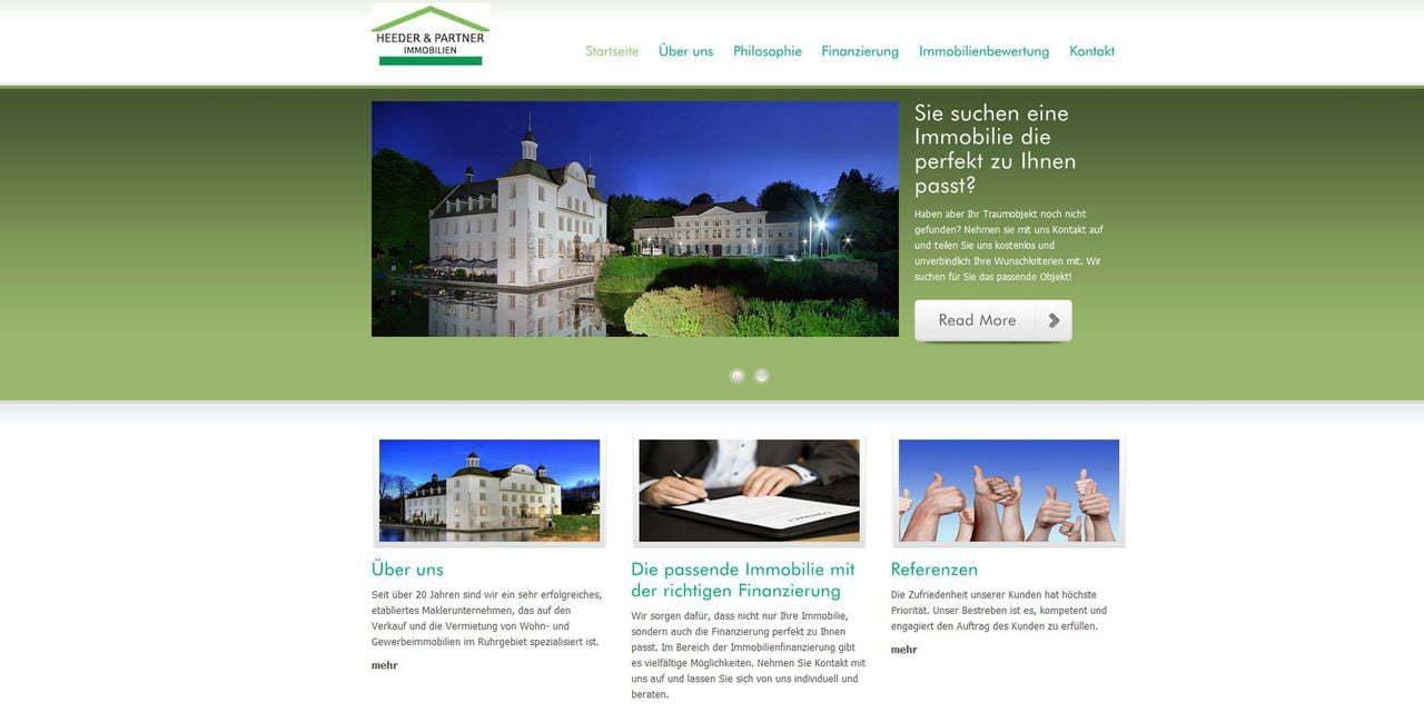 Screenshots Immobilien Jochen Heeder