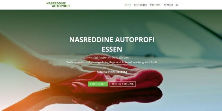 Nasreddine Autoprofi, Essen