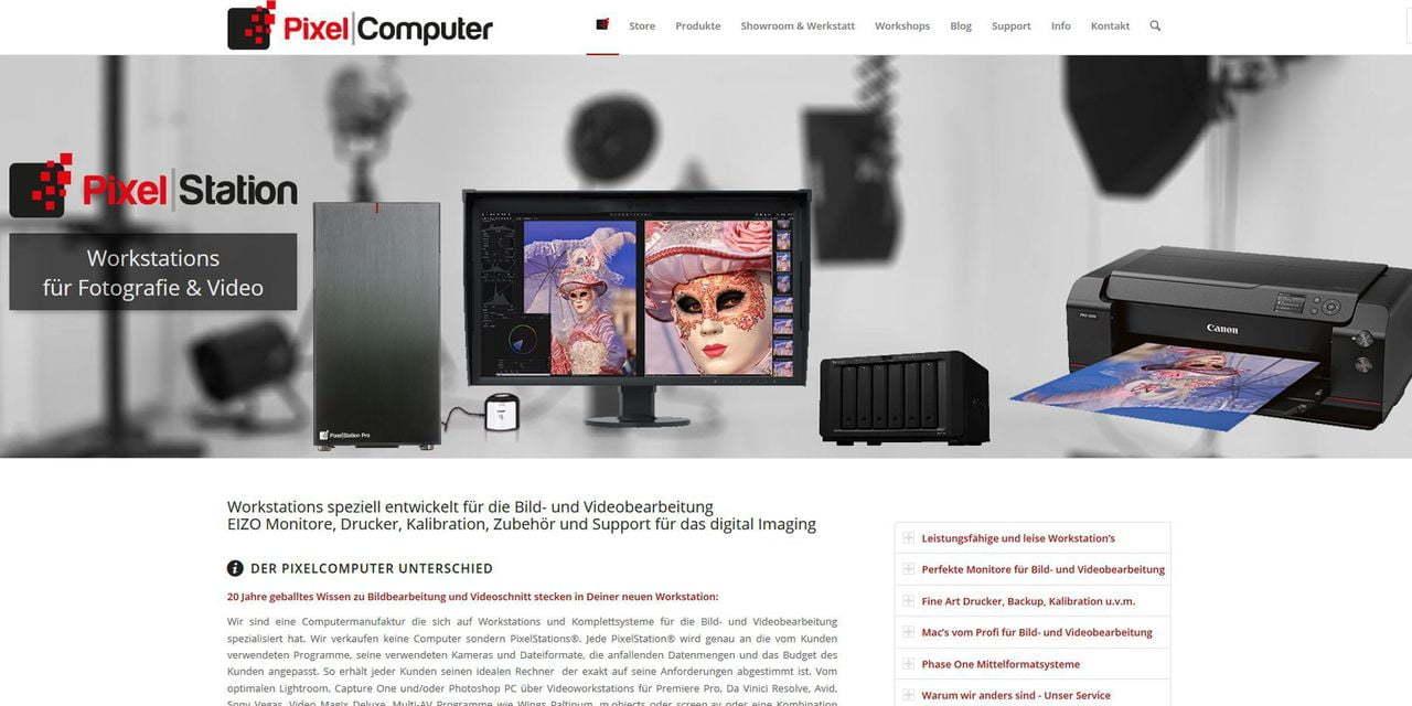 Screenshot Pixelcomputer