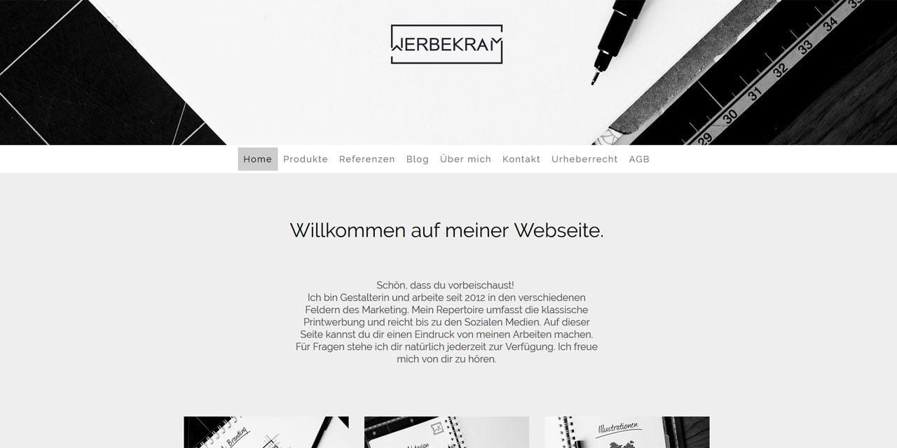 Screenshot Werbekram