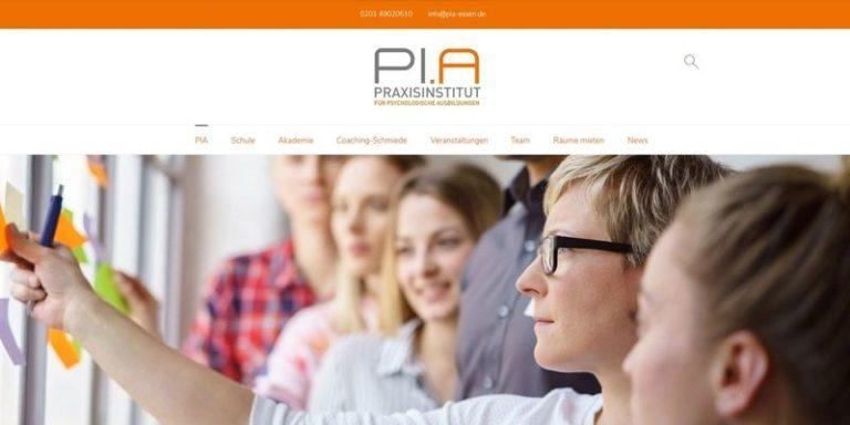 PI.A Praxisinstitut, Essen