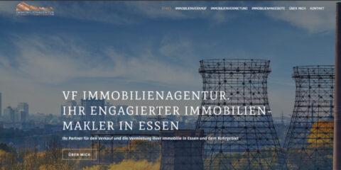 Website Erstellung VF Immobilienagentur